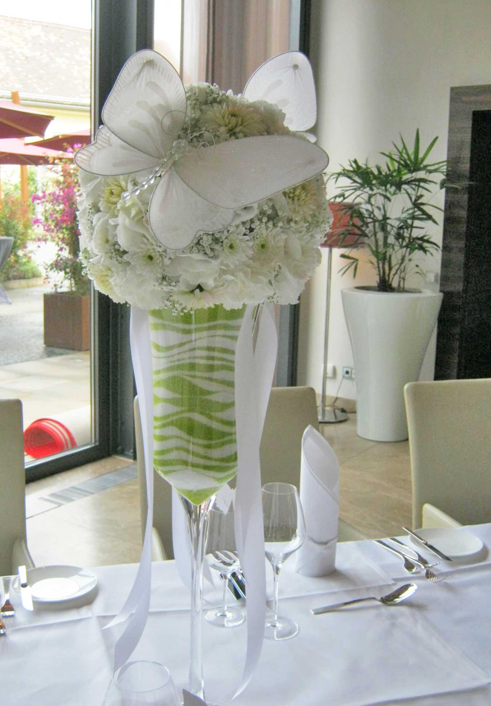 Location und Tischdekoration - Blumen & Dekoration Frankenthal
